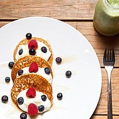 Pancakes & Fruit