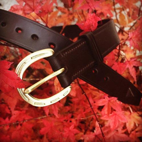 "1 1/4"" Leather Belt"