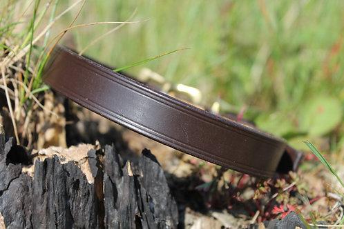 Plain Leather Dog Collar