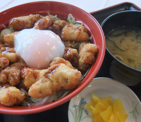 pork cutlet-rice bowl