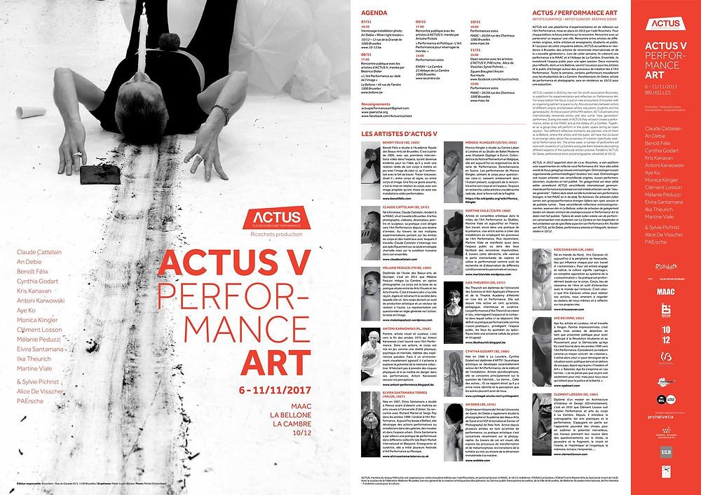 ACTUS V- Performance Art