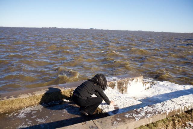 Parábola IX -I: Agua y sombras