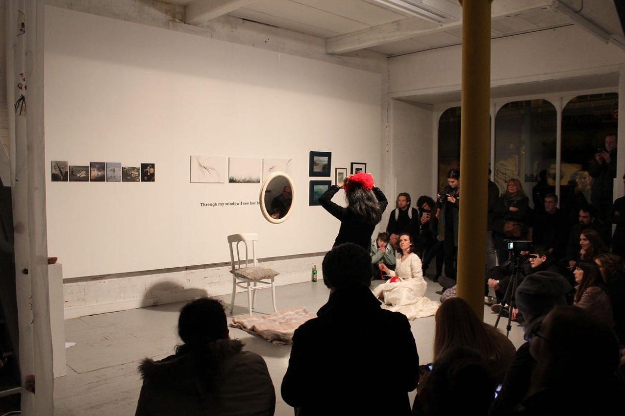 Chamber performance. Elvira Santamaría, Belfast, NI 2018