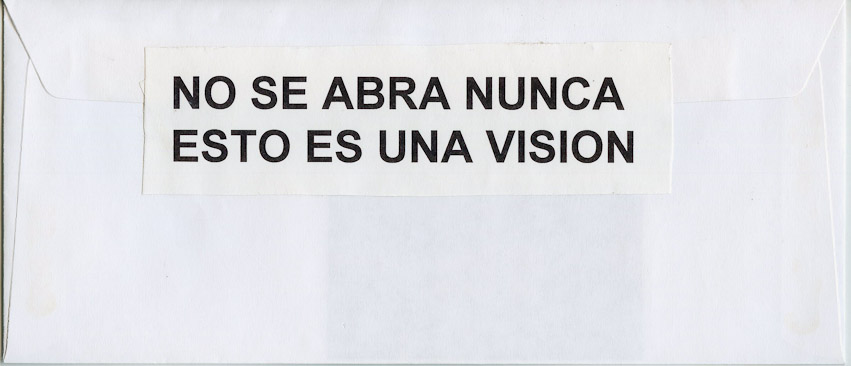"""Never open, it is vision"", 1995"