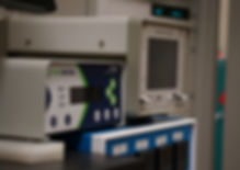 Temperatur controllers or the Fourier Transform Infrared Spectroscopy (FTIR) system