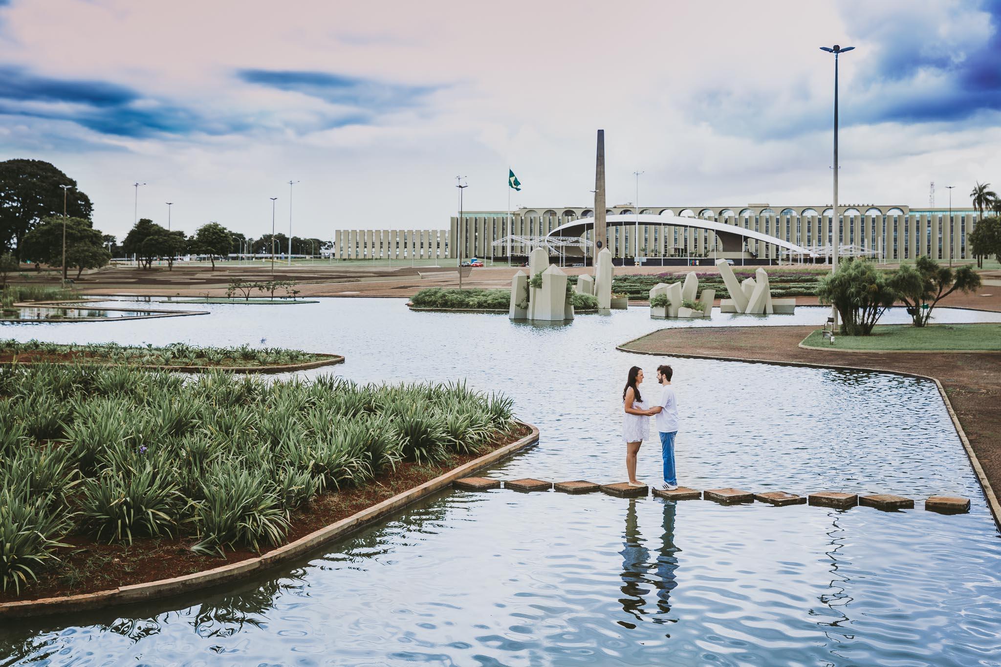 ensaio praça dos cristais Brasília