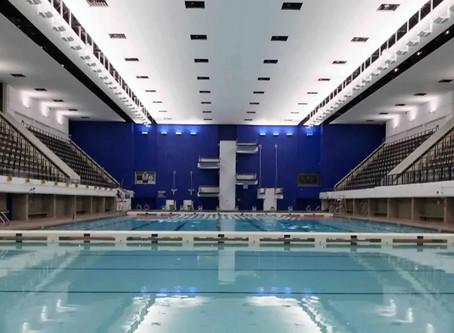 Pan-Am Pool - Acoustic Ceiling