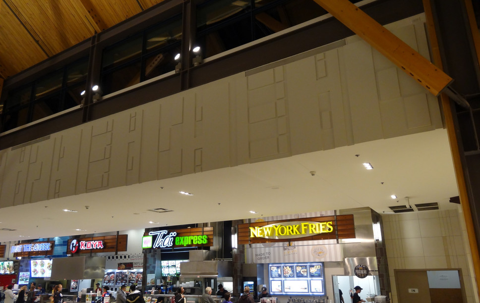 Plasterform   St. Vital Food Court
