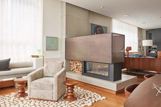 Banker Wire | Fireplace