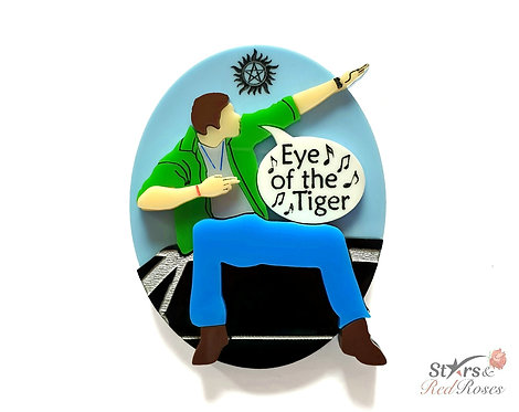 Dean's 'Eye of the Tiger' Brooch