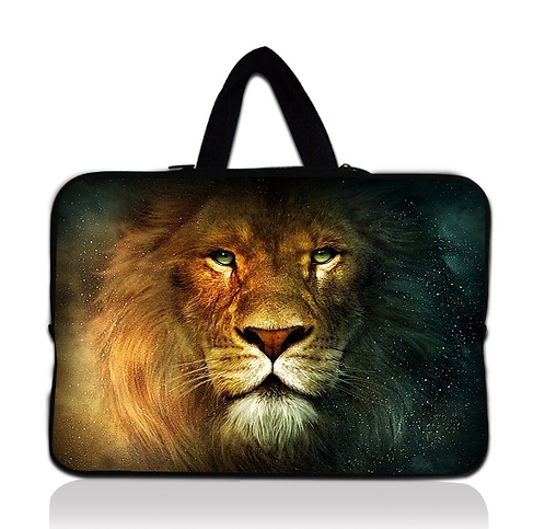 Lion & Stars Laptop Sleeve Case 15""