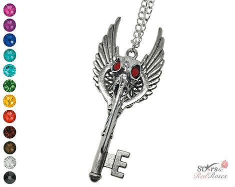 Custom 'Curious Mischief' Key Necklace