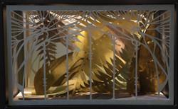 vitrines serre végétale