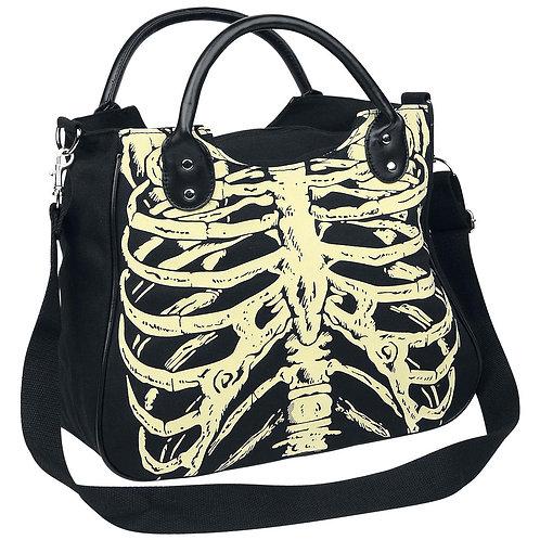 Glow In The Dark Skeleton Shoulder Bag