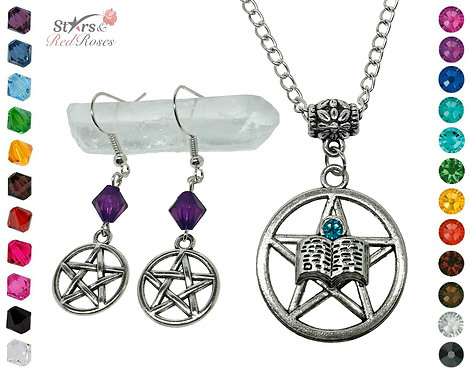Pentacle Spell Book Gift Set
