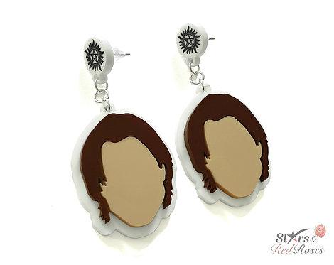 Sam Winchester Drop-stype Stud Earrings
