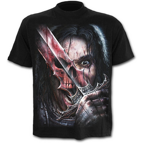 Spirit Of The Sword T-Shirt in Black