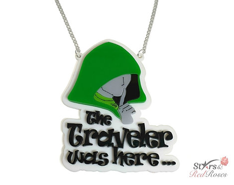 The Traveler was here... Necklace  (Critical Role)