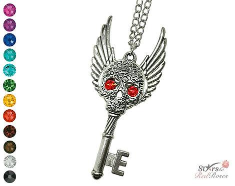 Custom 'Moonlight Memories' Key Necklace