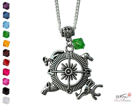 Westeros Compass Necklace