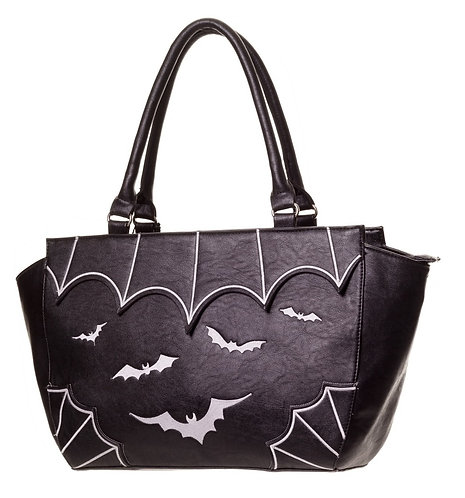 Salem White Bats Handbag