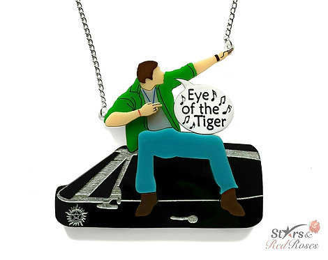 Dean's 'Eye of the Tiger' Necklace