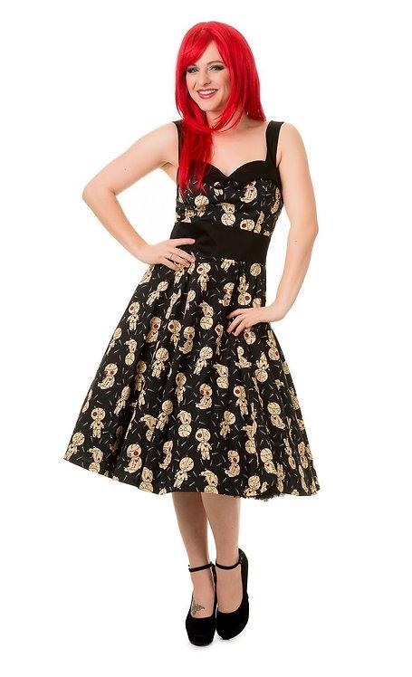 Distractions VooDoo Dolls Halter Dress