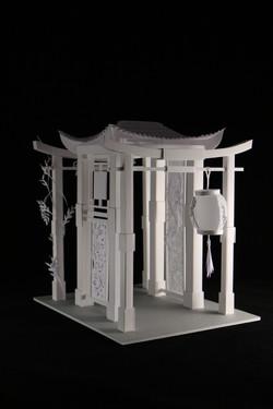 Maquette Porte du Japon