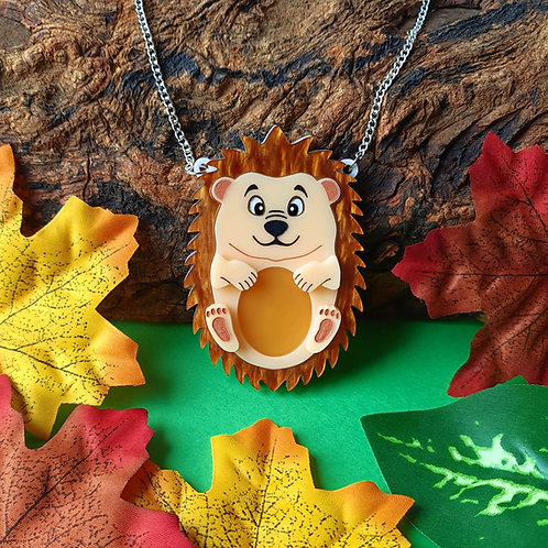 Henry the Hedgehog Acrylic Necklace
