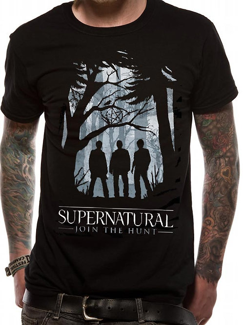 Supernatural Unisex T-Shirt - Group Outline
