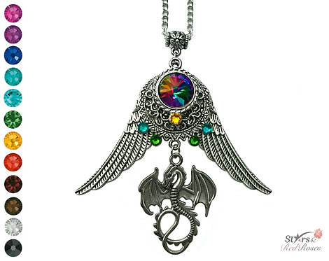 Vibrant Flight Necklace