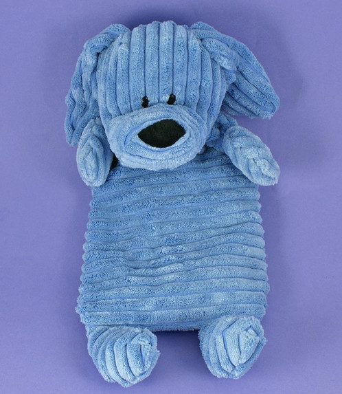 Cuddly Blue Puppy Dog Microwavable Warmer