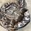 Thumbnail: Charcoal Hoodie - White Lash Artist Print