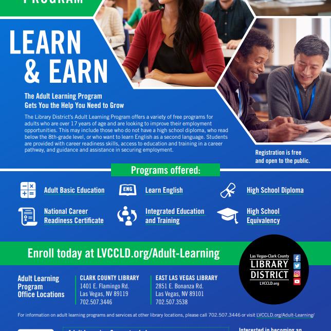 Adult Learning Program