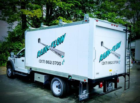 Box Truck Graphic