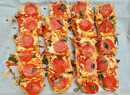 Garlic & Herby Pepperoni Pizza Bites