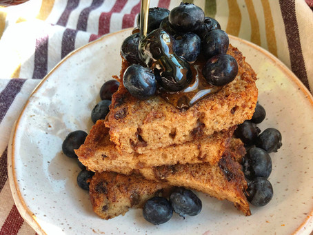 Egg-Free Cinnamon Raisin French Toast