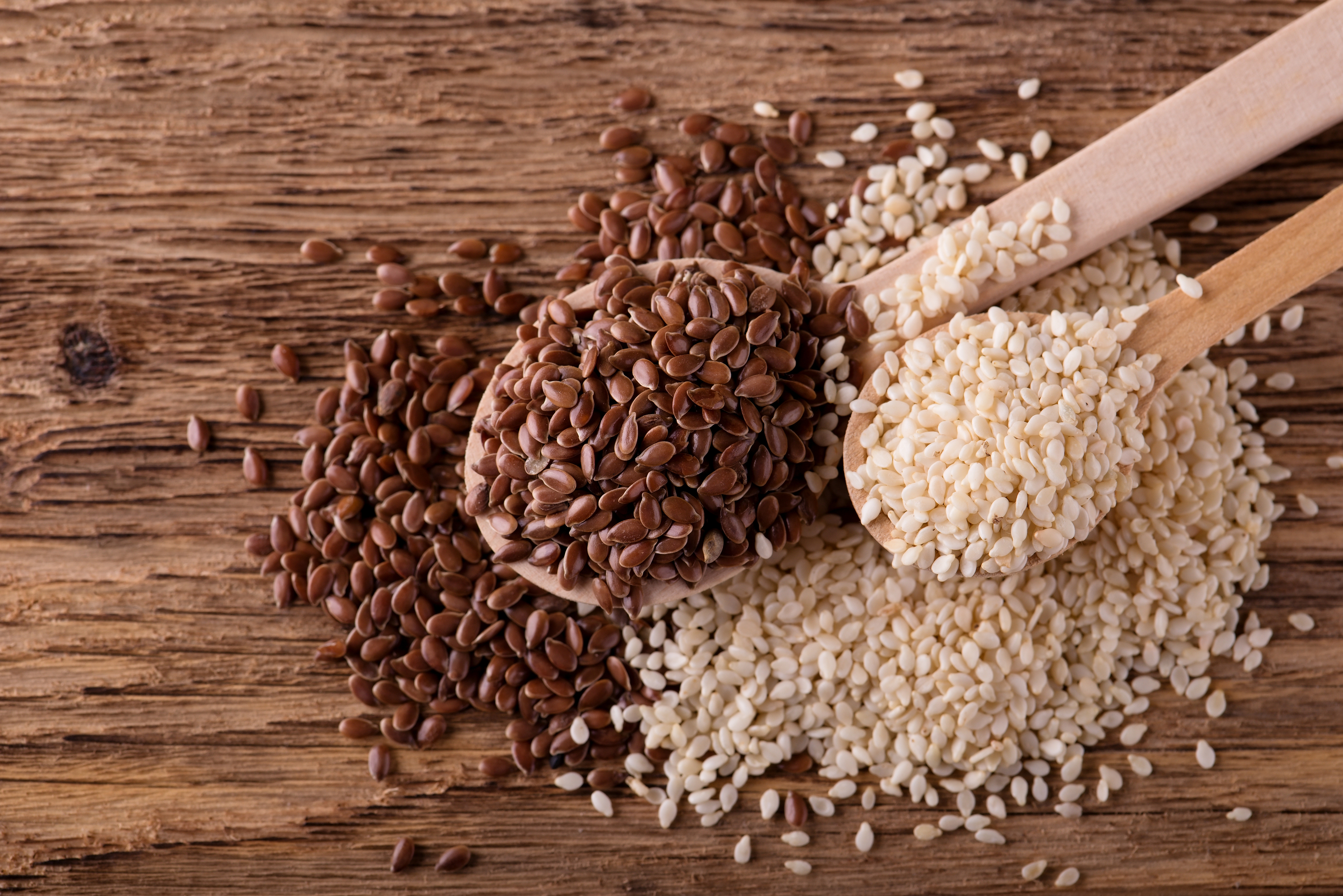Flax & Sesame Seeds