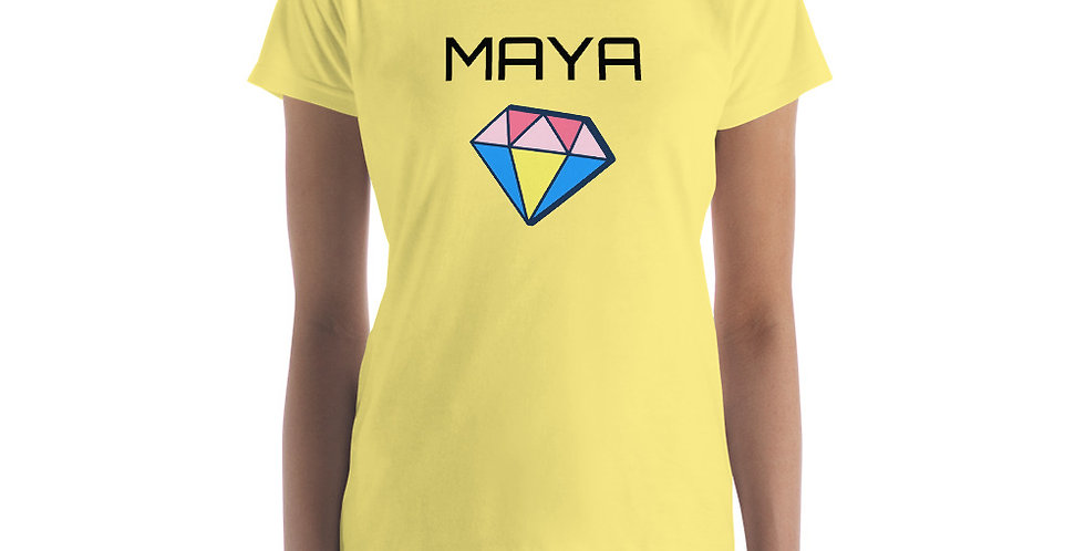Diamond Name Women's short sleeve t-shirt