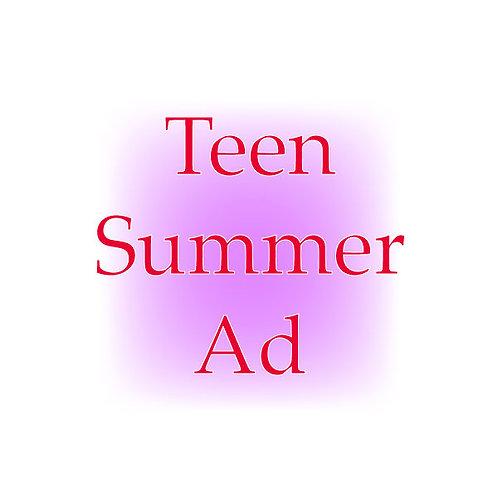 Teen Summer Ad