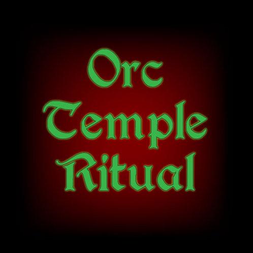Orc Temple Ritual