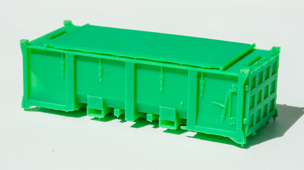 HO 20ft ISO Solid Waste Container
