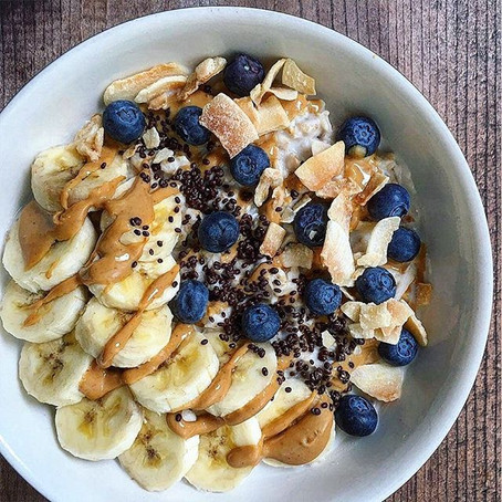 Coconut & Blueberry Oatmeal