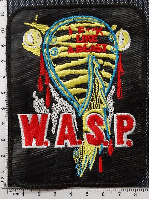WASP - ANIMAL F**K LIKE A BEAST Patch