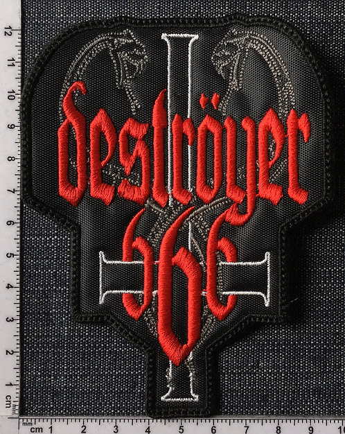 DESTROYER 666 - SNAKES EMBROIDERED PATCH