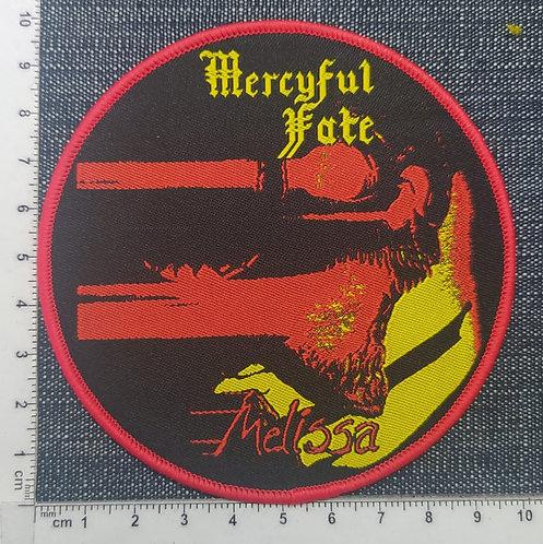 MERCYFUL FATE - MELISSA (CIRCLE) WOVEN PATCH