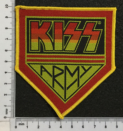 KISS - ARMY WOVEN PATCH