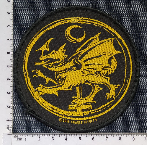 CRADLE OF FILTH - Order Of Dragon WOVEN PATCH
