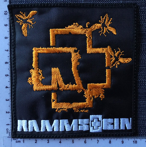 RAMMSTEIN - FLIES EMBROIDERED PATCH