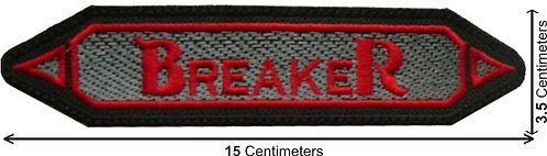 BREAKER - EMBROIDERED PATCH LOGO (PATCH)